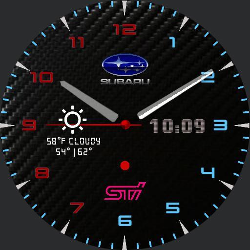 Subaru Sti Carbon ATD edition