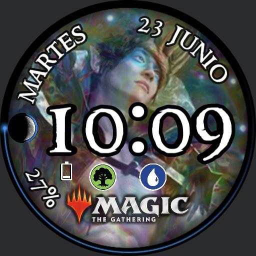 Magic BlueGreen Oko