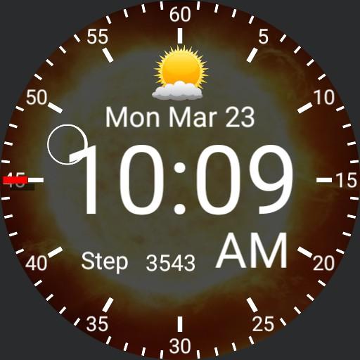 digital watch v 4 orbit