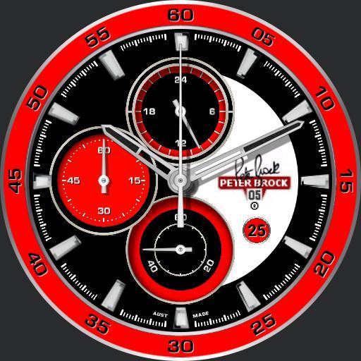 Peter Brock Tribute Chronograph