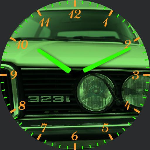 BMW E21 323 GREEN NEON