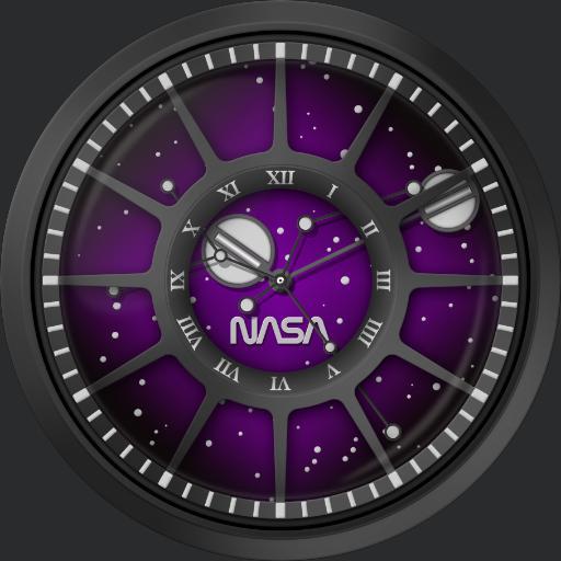 NASA Trappist 1 - Deep Space Purple SKU-TAN-3339-03L