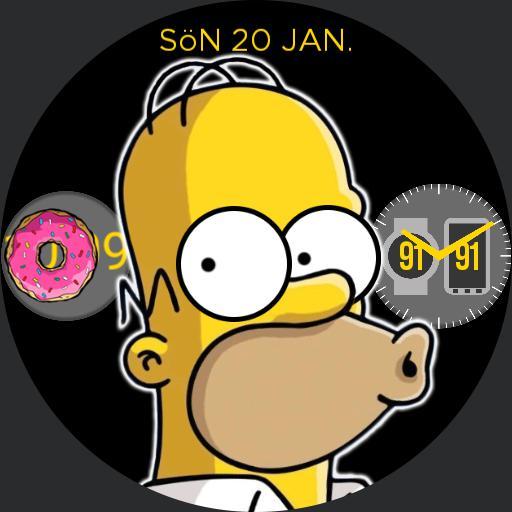 the Homer Watch, DARK by Albin Olsson