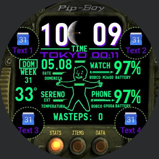 Pip-Boy M3600 modified by Byo - IT