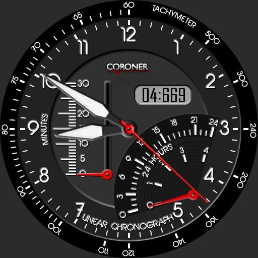 Linear Chronograph