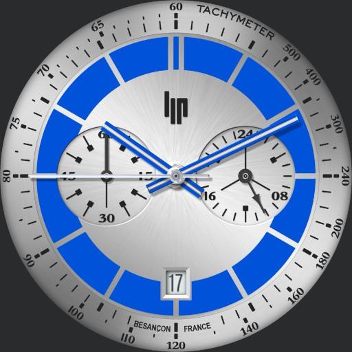 LIP Rallye Blue Ring 2019 / Paul Newman Chronograph 1960s
