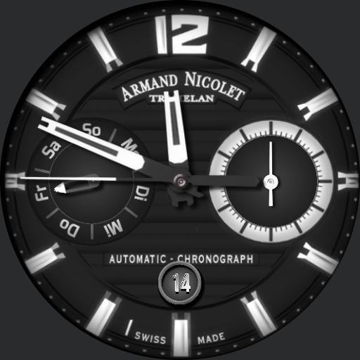 Armand Nicolet J09-2 Chronograph NoDim Copy