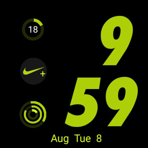apple watch face type Nike sports
