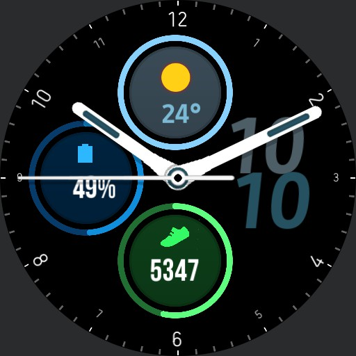 watch 3 24h real color/dimension