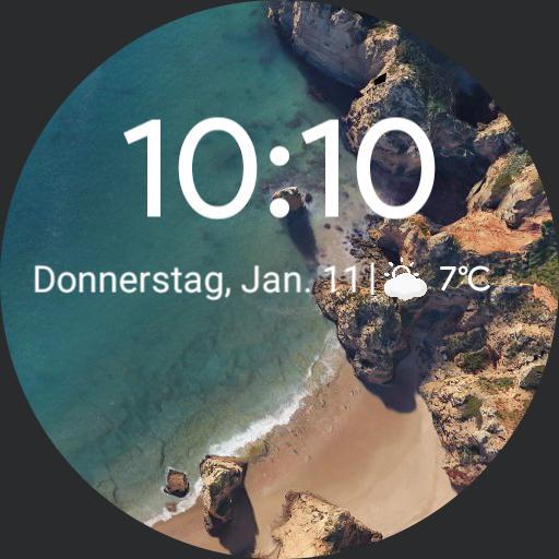 Google Pixel 2 XL Watchface