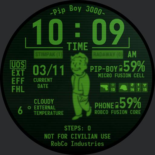 Pip-Boy 3000 With Date