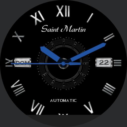 Black Roman Saint Martin