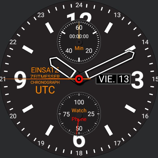 Mission Timer Chronograph UTC 4.0-b