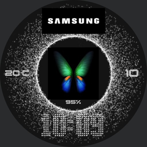 Samsung butterfly