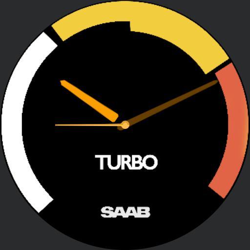 Saab Turbo Gauge