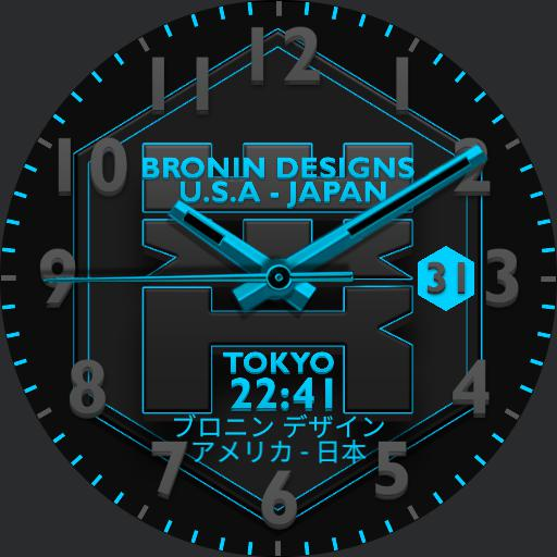 Bronin Designs Lex watch