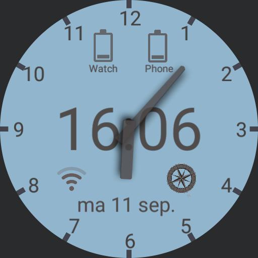 Functional watchface
