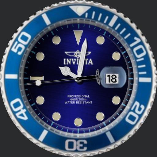 Invicta Dim Pro Diver Blue 22068