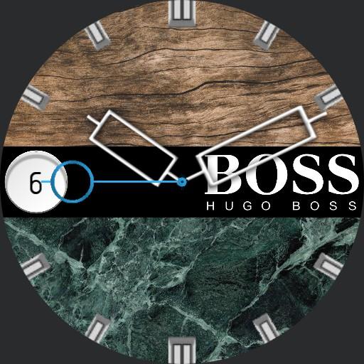 Hugo Boss Marble and Wood