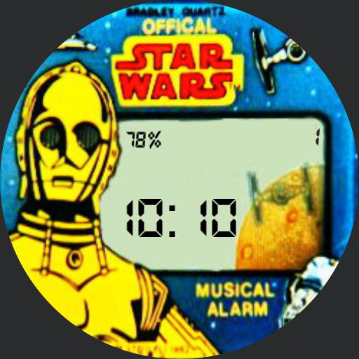 Dimmed Red Star Wars