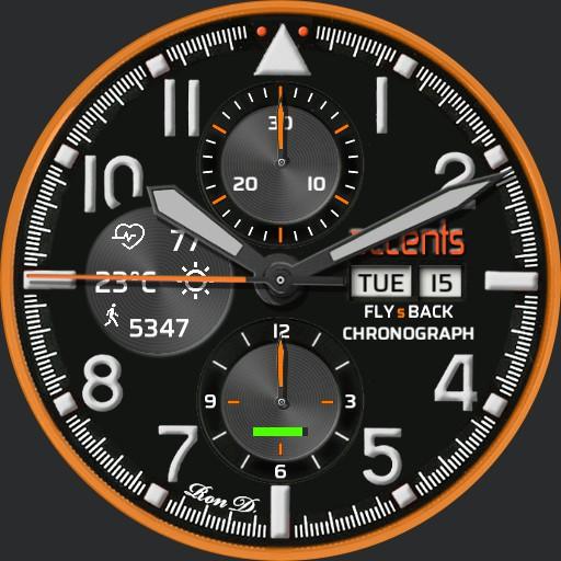 accents No. 1 - Aviator FLYsBACK Chronograph TZ