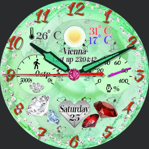_jewelry emerald face for tab by gaugaugexi