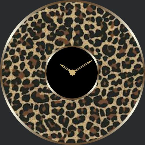 Animal print watch with 10 patterns