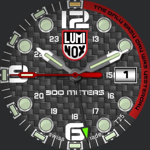my luminox carbon