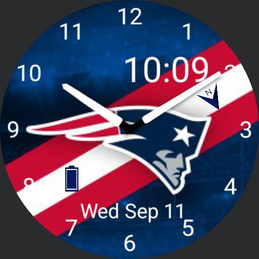 Patriots Fanface 3
