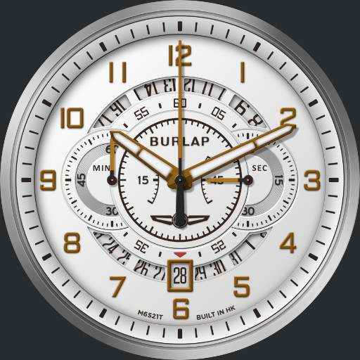 Burlap Chronograph First 4 in 1