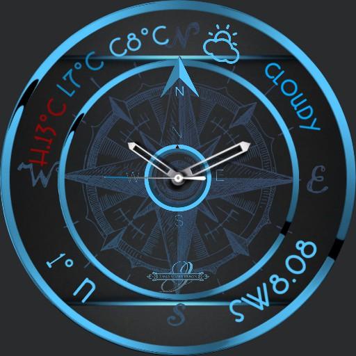 Compass Wetter Watch
