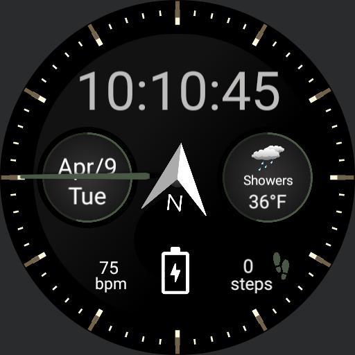 Samsung Gear S3 Weather Copy