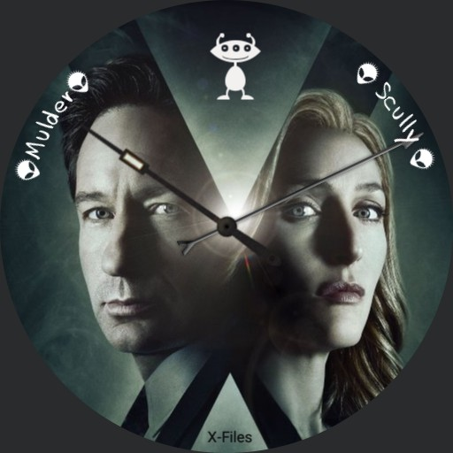 xFiles #2 - Mulder and Scully - by Klaatu