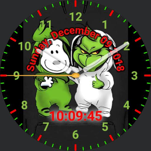 Grinch and Snoopy