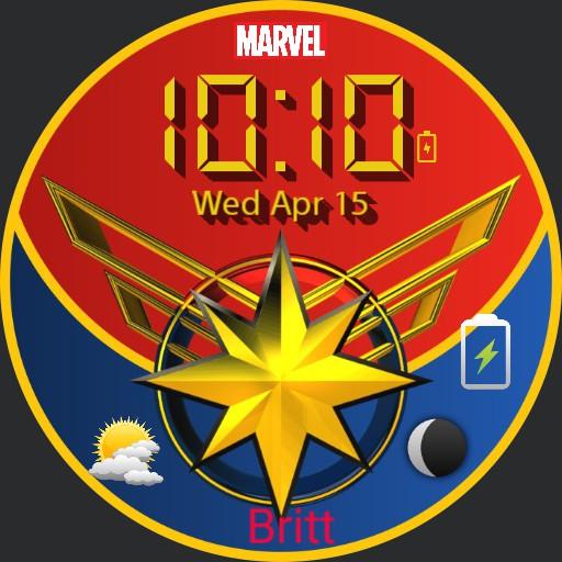 Captain Marvel watch Copy