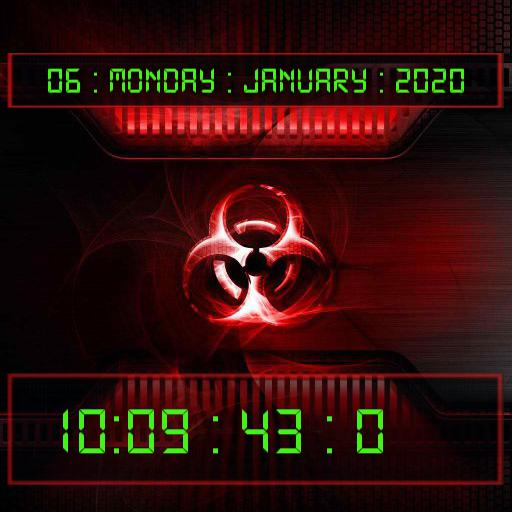 Nuclear Wallpaper Timer Watch
