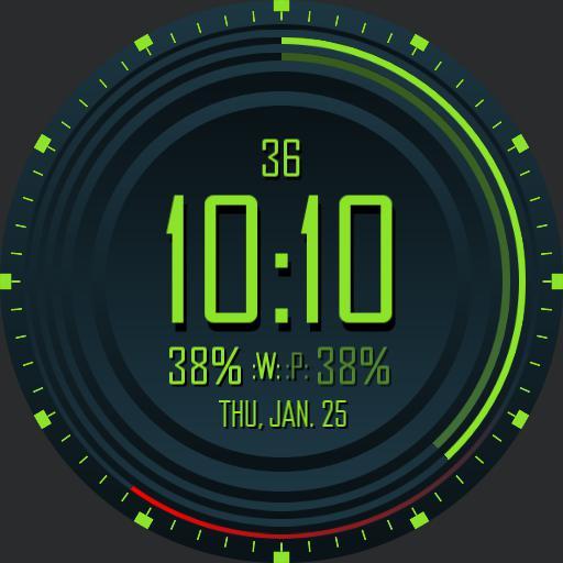 BP Circle V1 Ucolor - 4 Screens