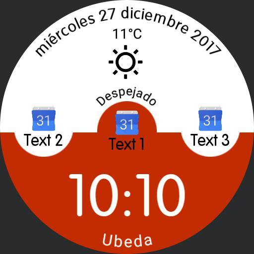 Reloj Simple