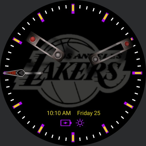 Lakers Black and White Copy