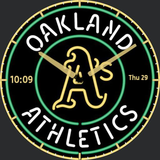 Oakland As Watch Face
