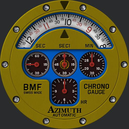 Azimuth Mecha-1 Chrono Gauge BMF V2 Ucolor