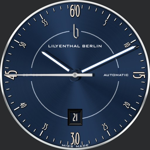 LILYENTHAL BERLIN Zeitgeist Blau JBLBZBOO290620