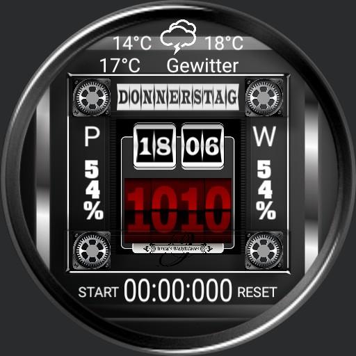 Design 1356 Weather Stopwatch DEUTSCH