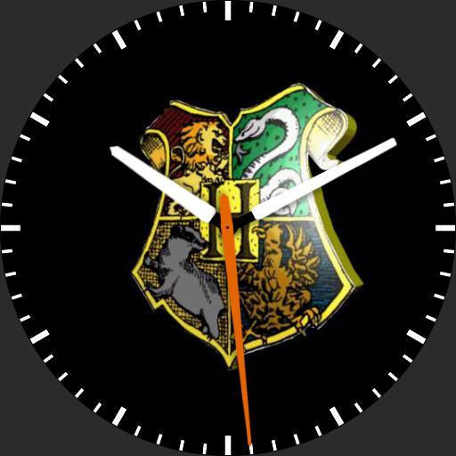 Hogwarts watchface animated