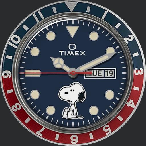 Q Timex Reissue x Peanuts 70th Anniversary