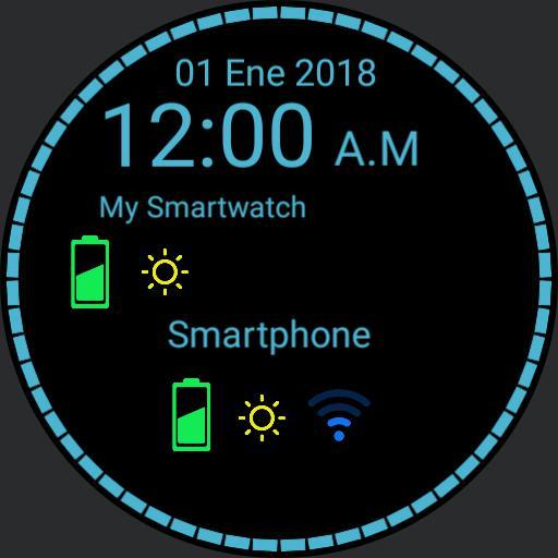 My WatchFace Blue
