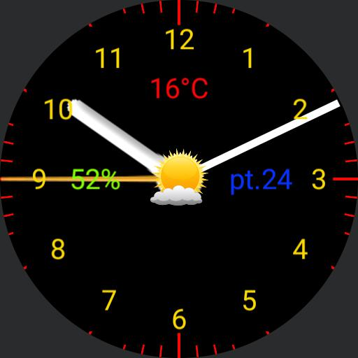 Galaxy Watch Blue Red v.2