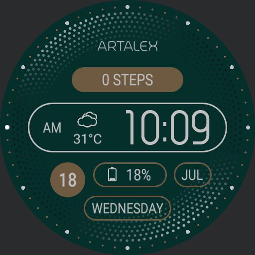 ARTALEX Forest Emerald Tic