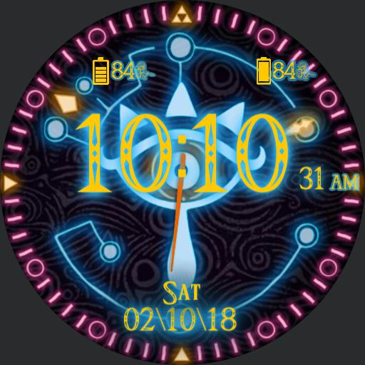 breath of the wild watch face