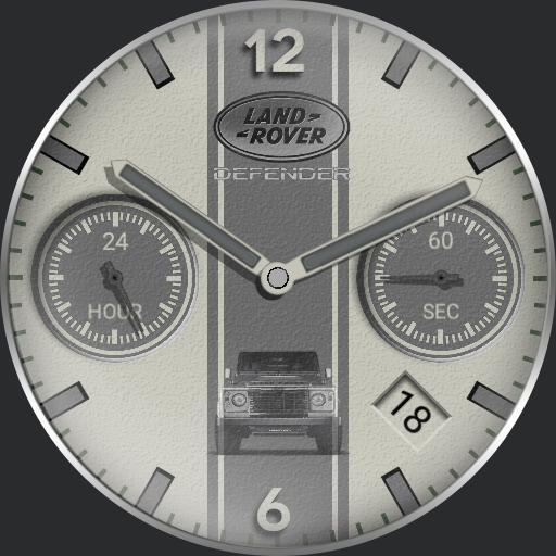 Defender timepiece